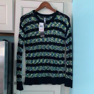 Kenzie knit open weave lightweight sweater